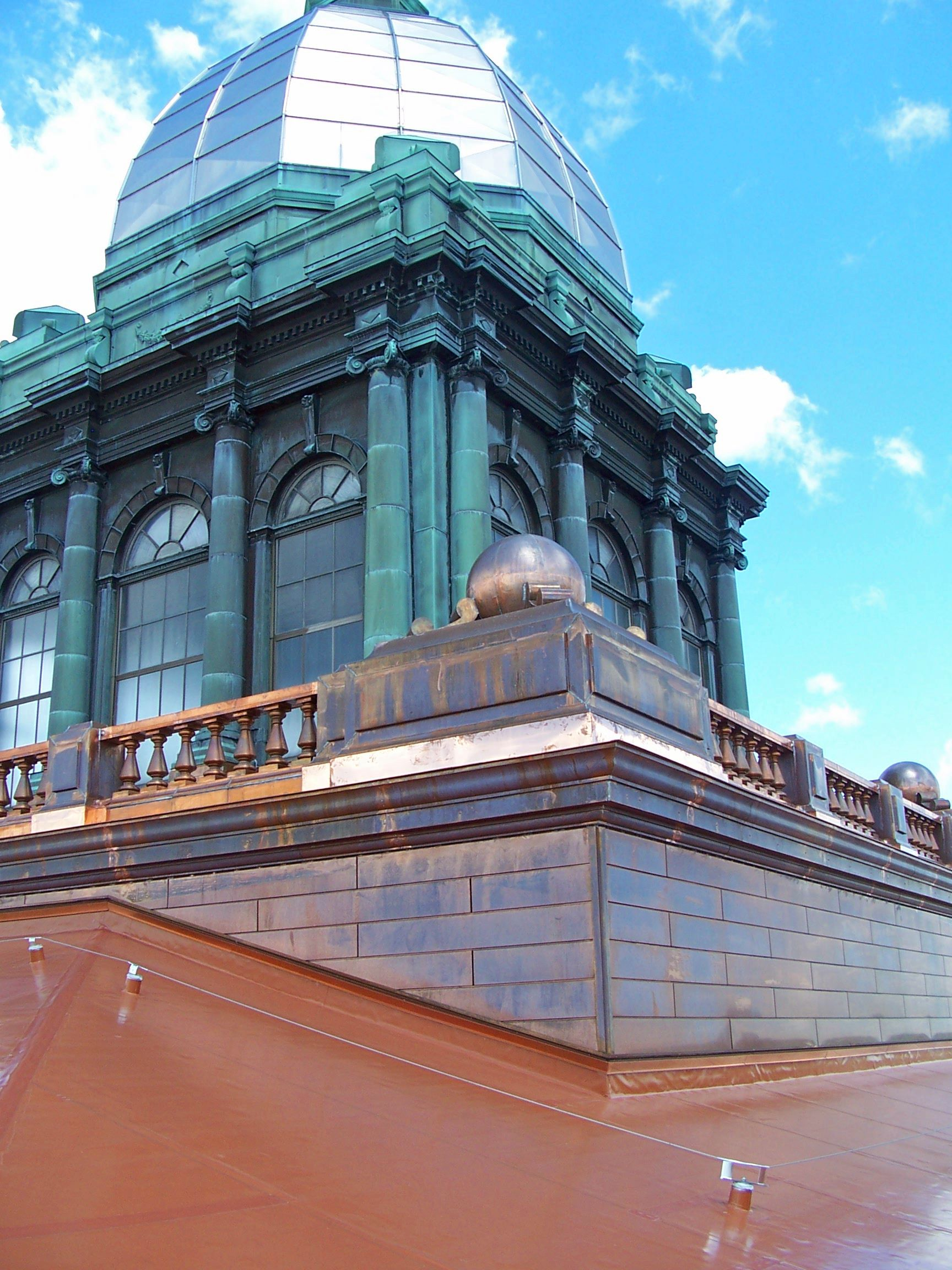 Renaissance Roofing Inc Roofing Systems Copper Roof Roofing