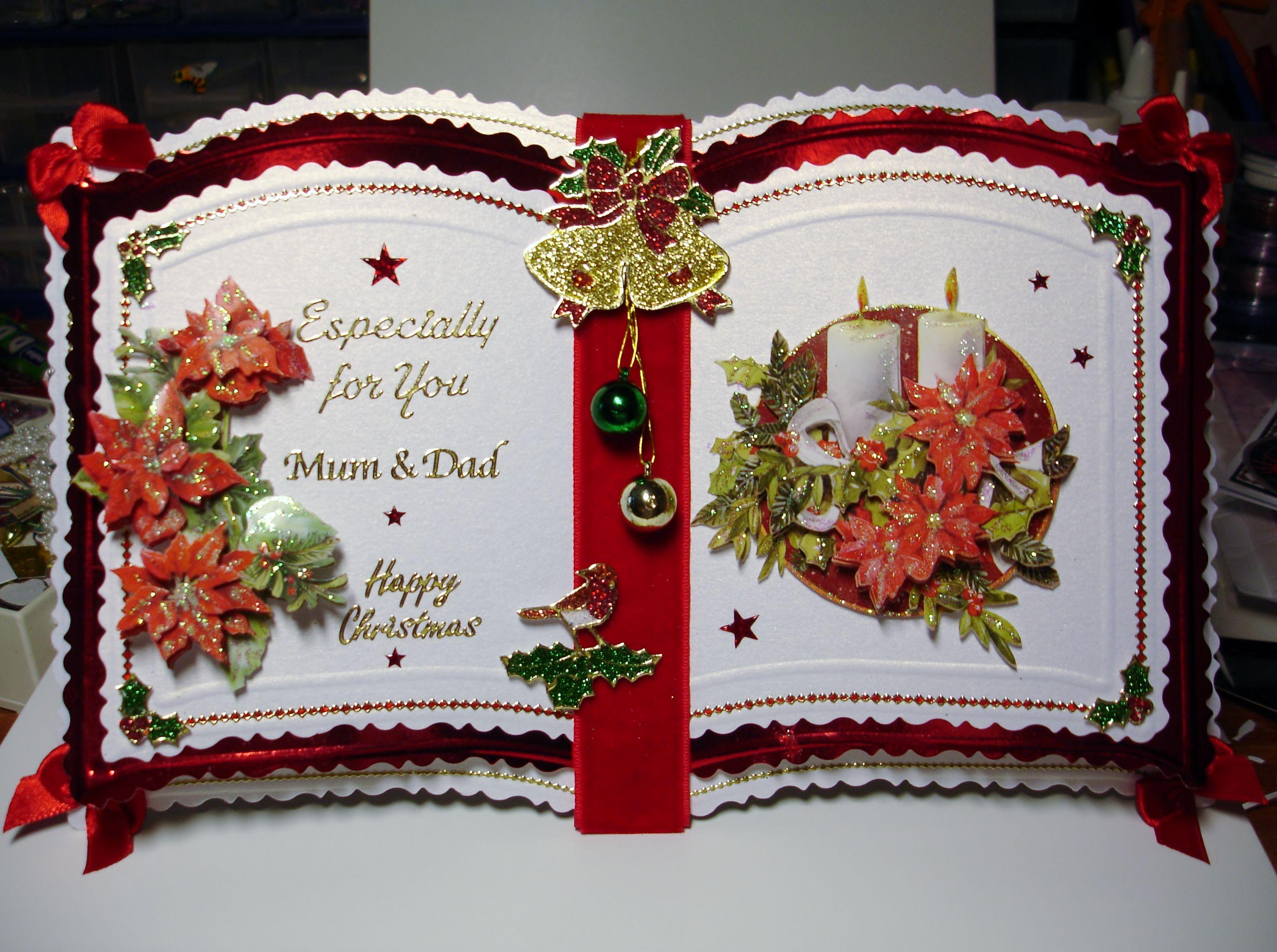 bookatrix christmas Christmas cards handmade, Pinterest
