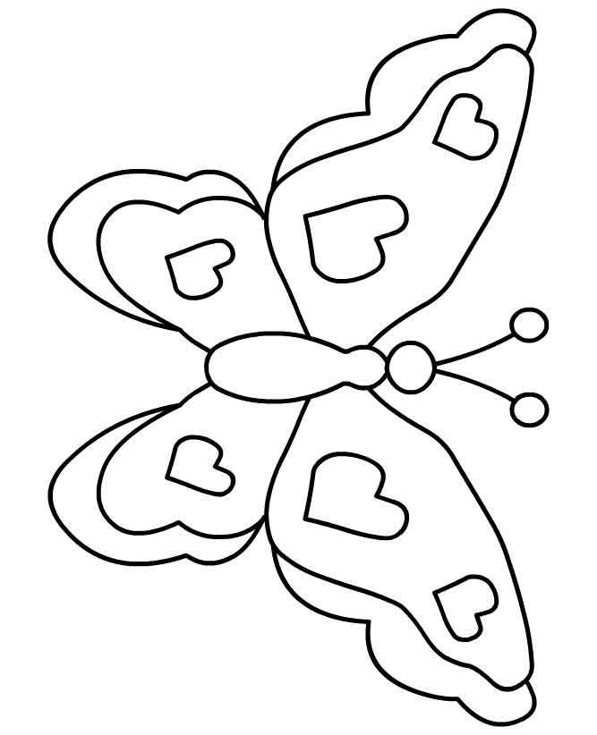 Mariposas para Colorear  Dibujos Online  coloring pages