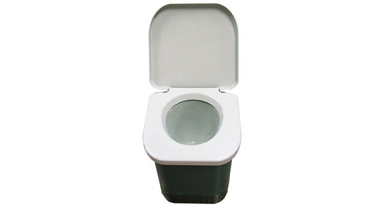 Portable Camping Toilet : Stansport easy go portable camp toilet camping boat outdoor easy