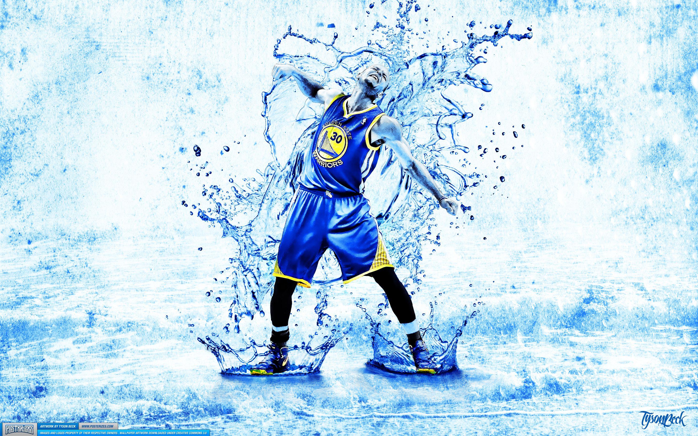 Posterizes Com Nba Wallpaper Artwork: Stephen Curry 'Splash' Wallpaper