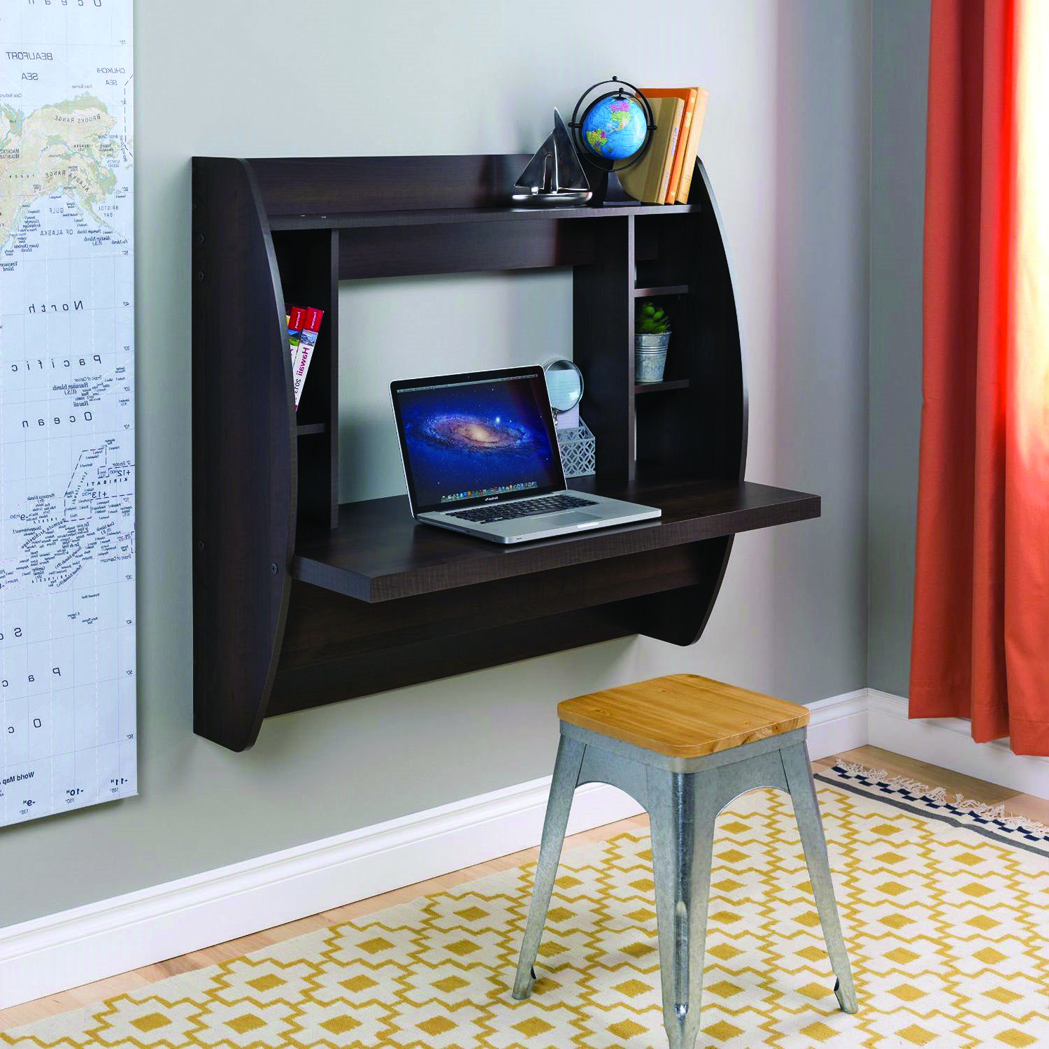 How To Pick The Right Desk For You Wall Mounted Table Space