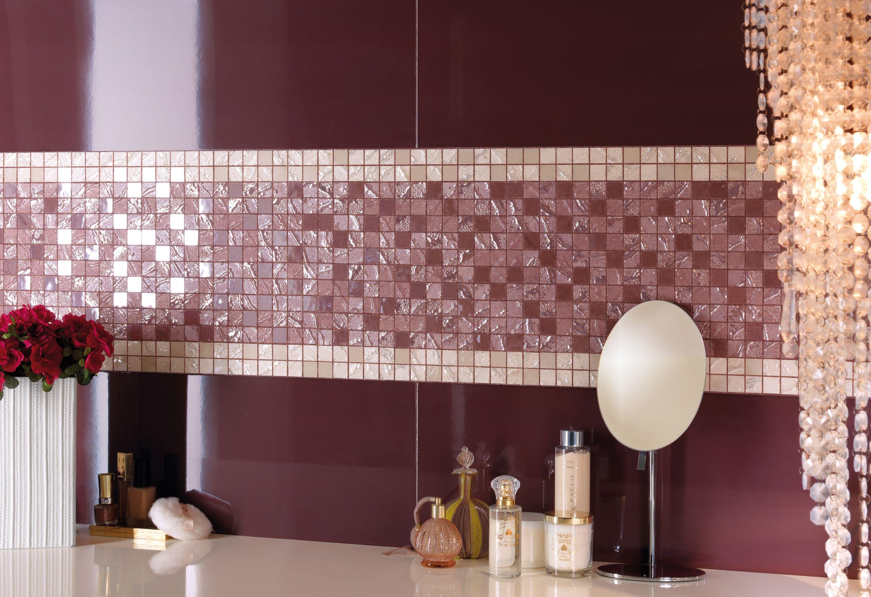 Pin di ceramiche supergres su mosaici da rivestimento per il bagno