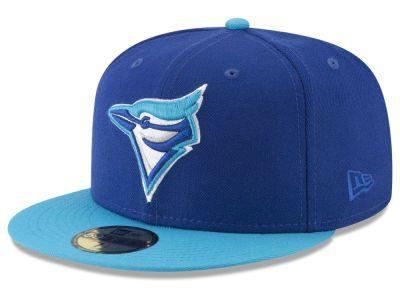 2e984975fac Toronto Blue Jays New Era MLB Batting Practice Wool Flip 59FIFTY Cap ...