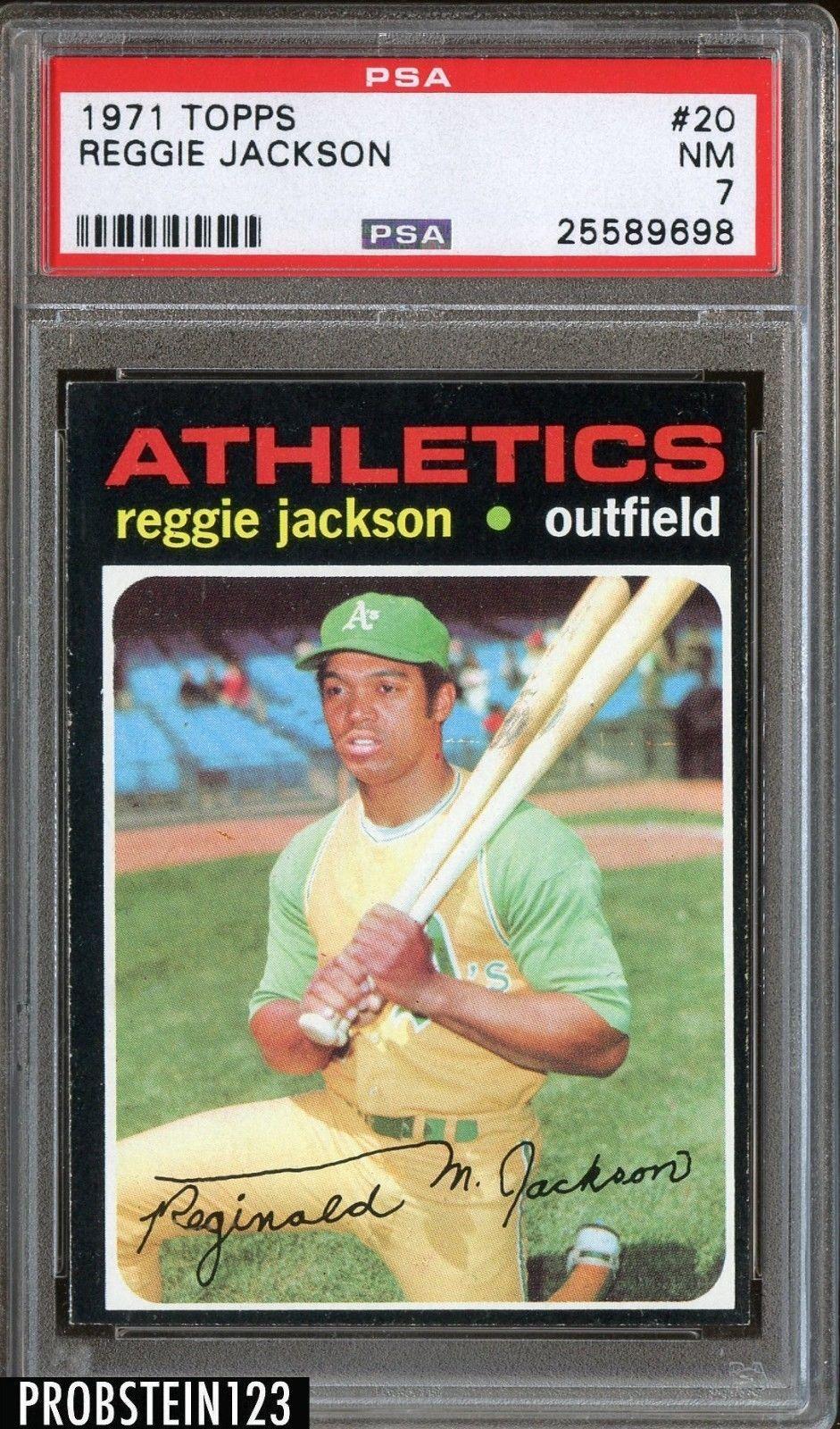 Park Art|My WordPress Blog_Reggie Jackson Rookie Card For Sale