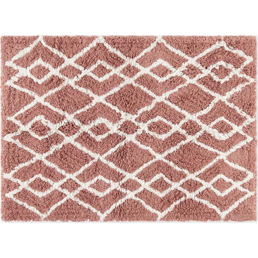 Fes Grosse Badematte 70 X 100 Cm Aus 100 Baumwolle Rosa In 2020 Contemporary Rugs Decor