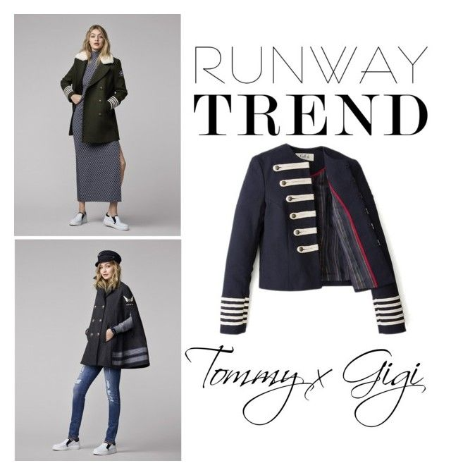"""""""Tommy x GiGi"""" by chicville ❤ liked on Polyvore"""