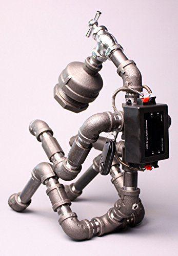 Roboter Lampen Wohnzimmer Schlafzimmer Deluxe Eisen Edelstahl