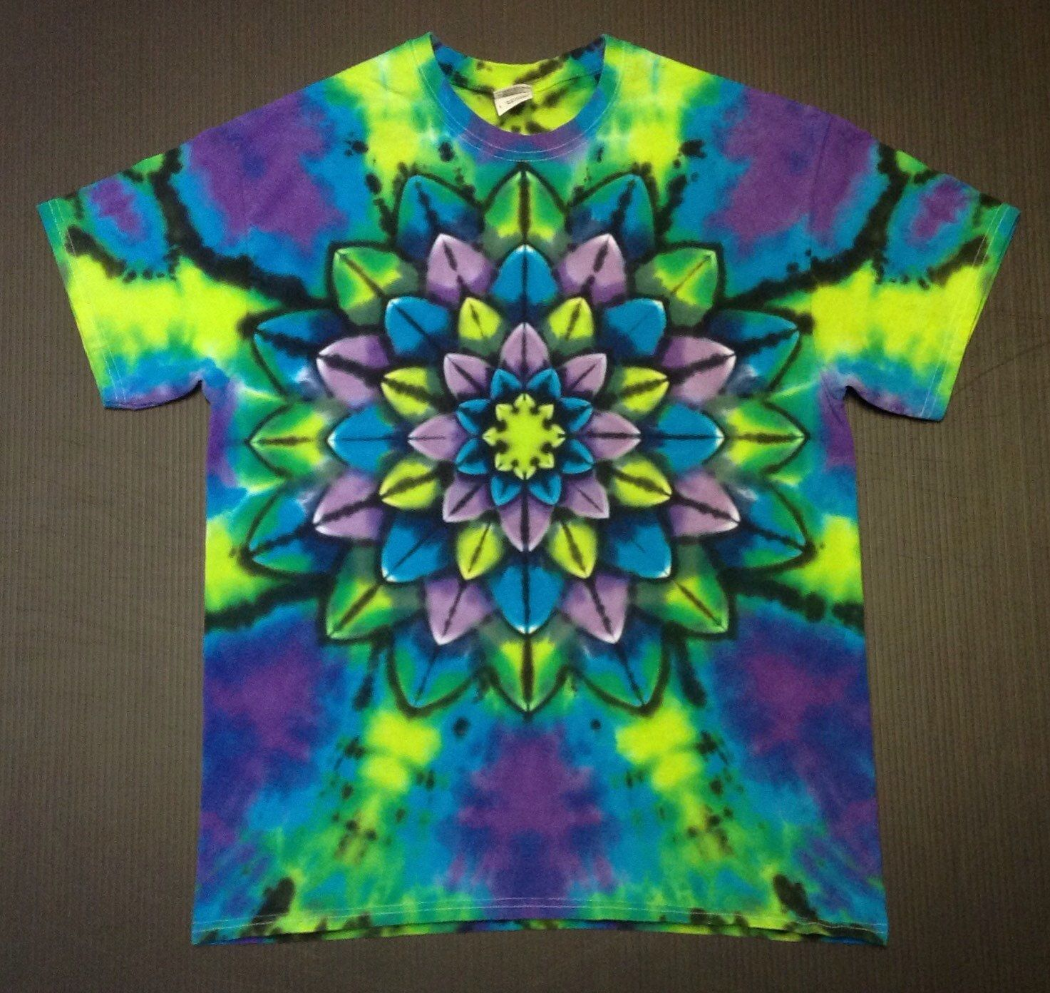 Tulip Tie Dye T Shirt Party Simple Tie Dye Patterns Rainbow