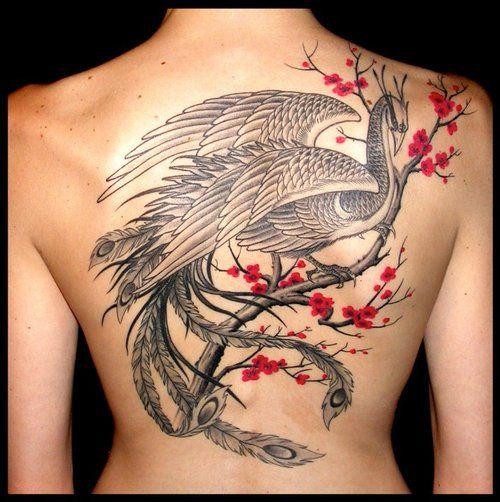 Pin By Kayla Ann On Tattoo Back Tattoo Tree Tattoo Back Phoenix Back Tattoo