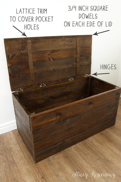 Easy To Build Toy Box Crate Stacy Risenmay Diy Toy Box Wood