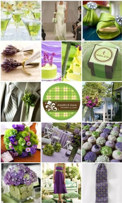 Inspiration 6 When Life Give You Limes Make Limeade Colors Chocolate Brown Lime Green Purple Wedding