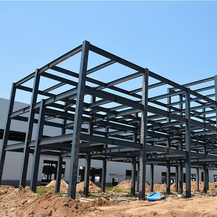 H Steel Beam And Column Ethiopia Prefabricated Steel Structure Warehouse Steel Structure Buildings Steel Architecture Steel Frame House