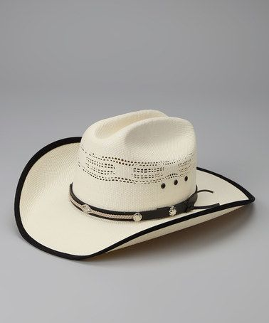 4afd22e93 Take a look at this White & Black Bangora Cowboy Hat by Western ...