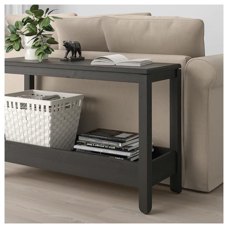 Havsta Console Table Dark Brown 39 3 8x13 3 4x24 3 4 Ikea Ikea Console Table Console Table Ikea
