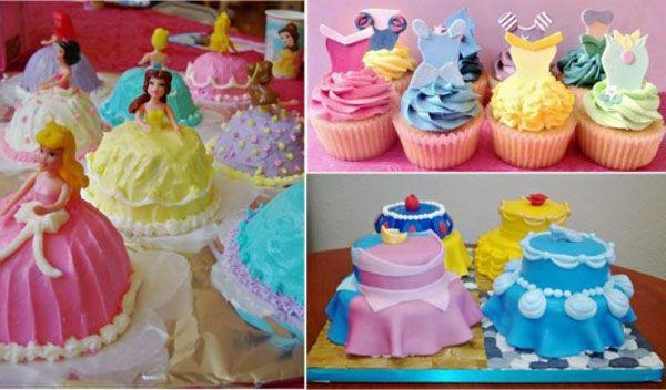 Фото украшения торта для девочки