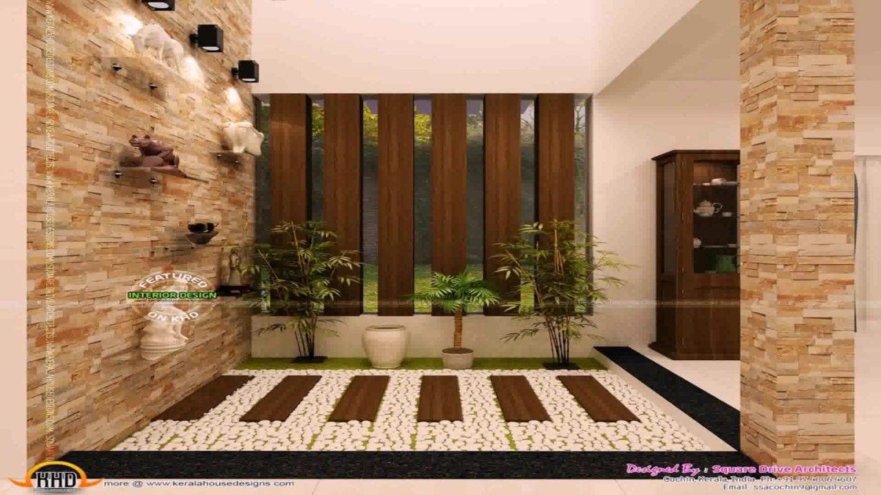 Modern House Design, Modern Houses, Courtyard House, Kerala, Modern Homes,  Modern Home Design, Contemporary Houses, Modern Contemporary Homes