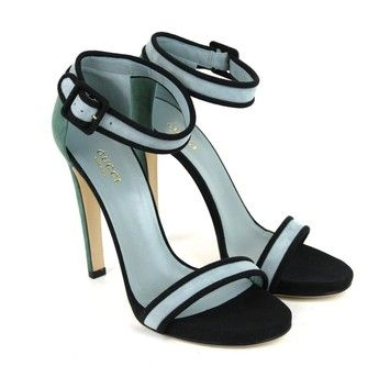 740698305 Get the must-have sandals of this season! These GUCCI Suede W ankle Strap  311423 New Blue Sandals are a top 10 member favorite on Tradesy.