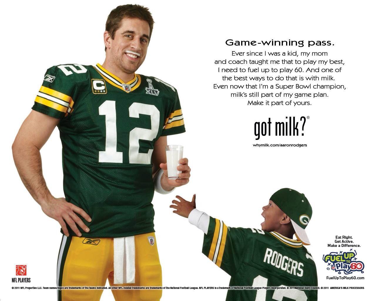 Got Milk Greenbay Aaronrodgers Green Bay Packers Team Rodgers Green Bay Green Bay Packers