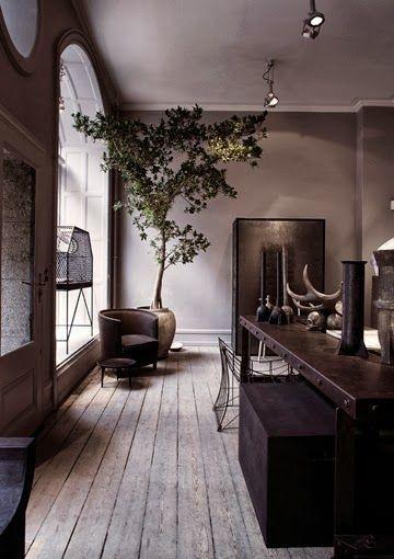 Arredamento in stile urban chic - Piante verdi negli interni ...