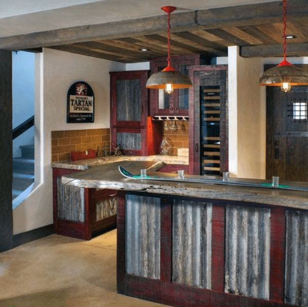 Interior Design Ideas Home Bar: Top 70 Best Rustic Bar Ideas
