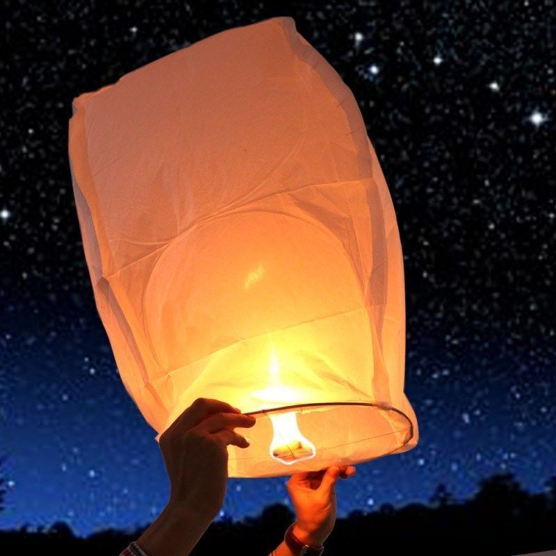Flying candles sky lanterns installing electric hot water heater