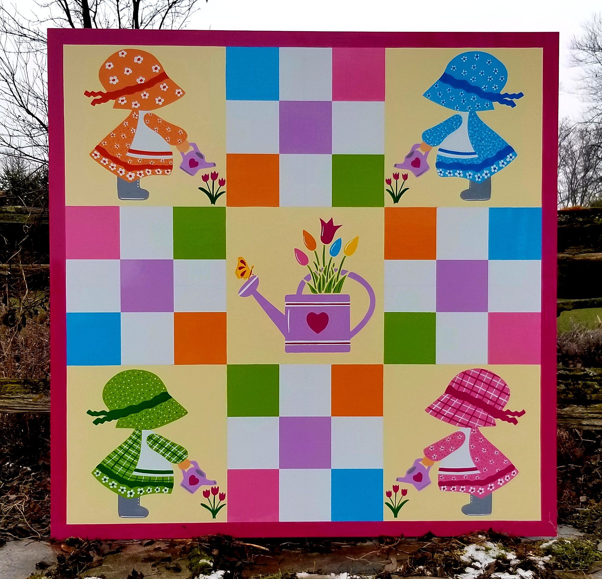 Pin by Angel Beard on Barn Quilts II in 2020 Barn quilts