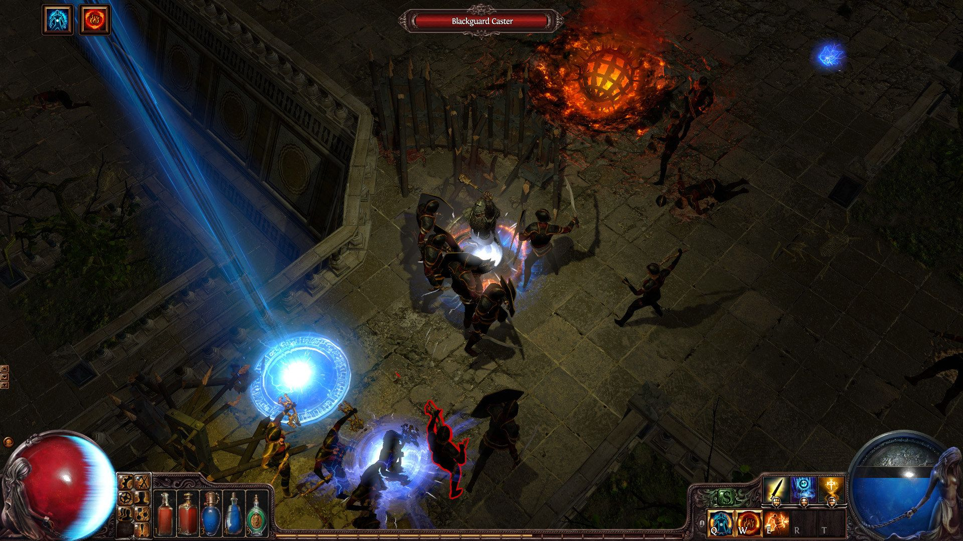 Path of Exile isometric hacknslash MMO. Quite