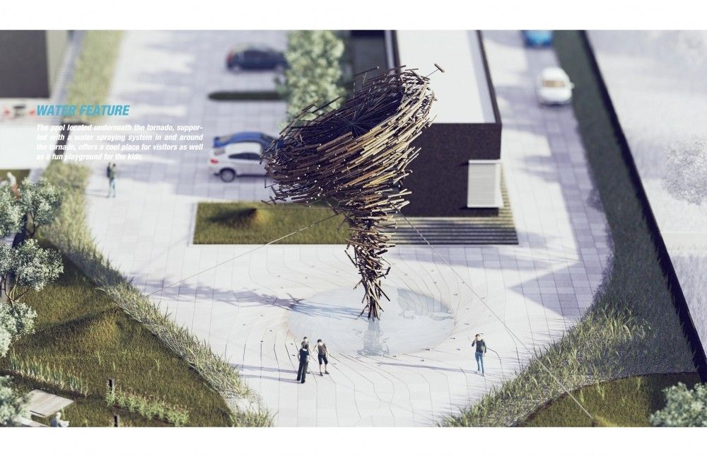 This #project includes a Water Feature that sprays when you post on Social Media. How about THAT?   See details here: http://bit.ly/1vSj4An  #landarch #waterfeature #landscapedesign #landscapearchitecture