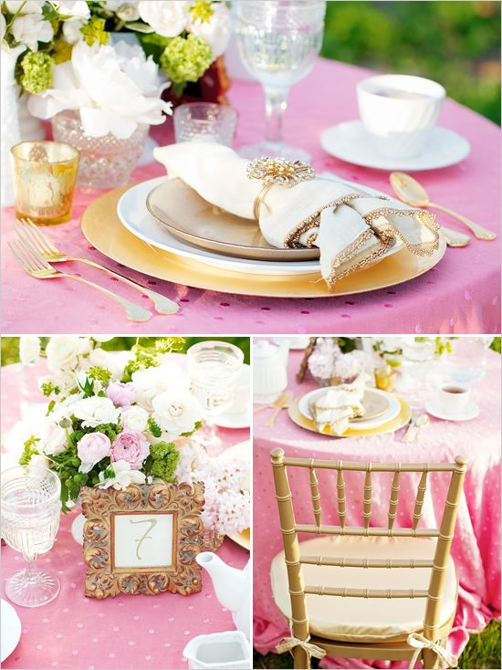 Brittany Johnson from Stella Event Design created this adorable photo shoot. Very Romantic but modern.