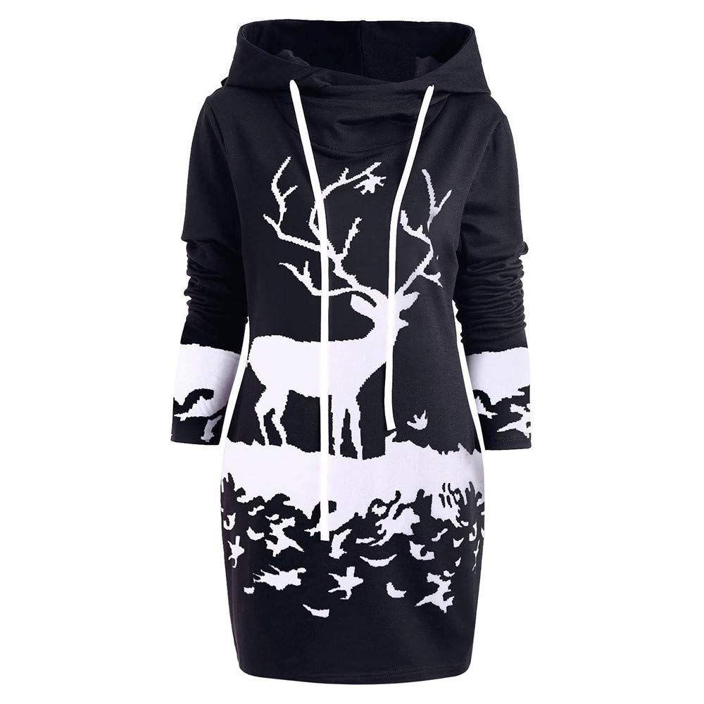 qmber weihnachten kleider damen pullover kleid bluse