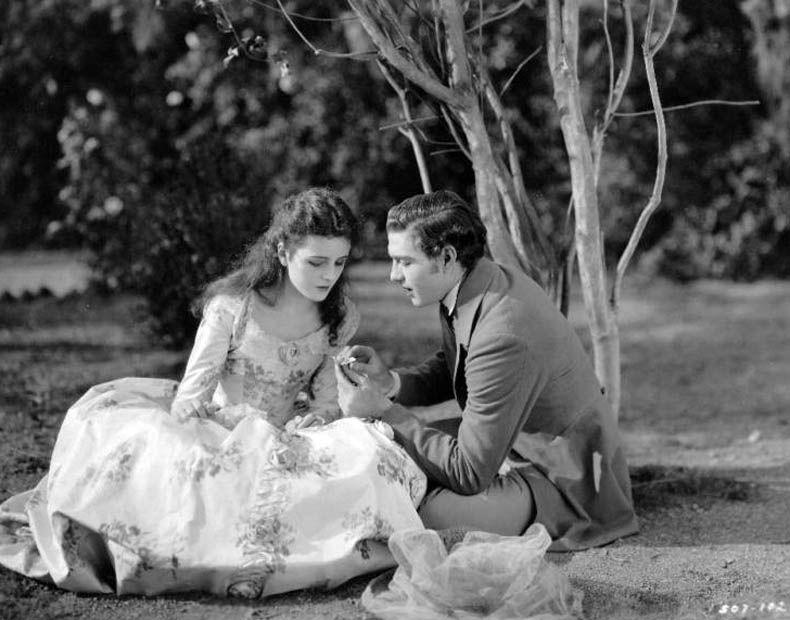 Mary Astor and Cullen Landis in  The Fighting Coward, 1924