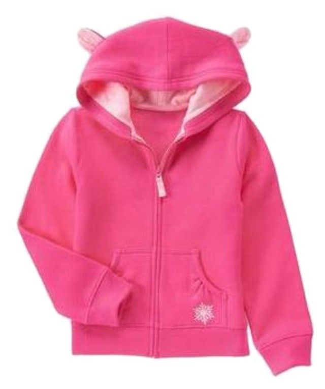 Gymboree Fair Isle Flurry Fleece-Lined Hoodie Find this and more ...