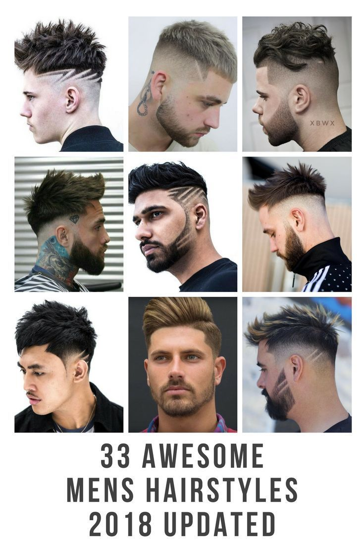 Men haircuts 2018 check out the most upto date on trend mens hairstyle gallery