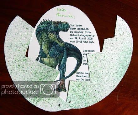Photo of Dinogeburtstag – Der Scrapbook Laden Blog