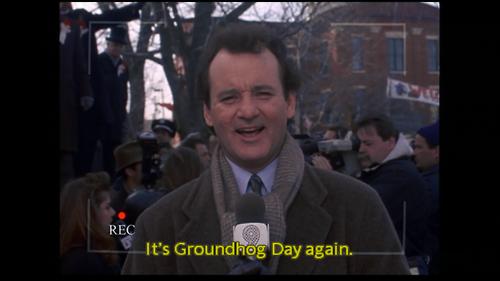It's Groundhog Day Again. Imgur Funny Pinterest Memes
