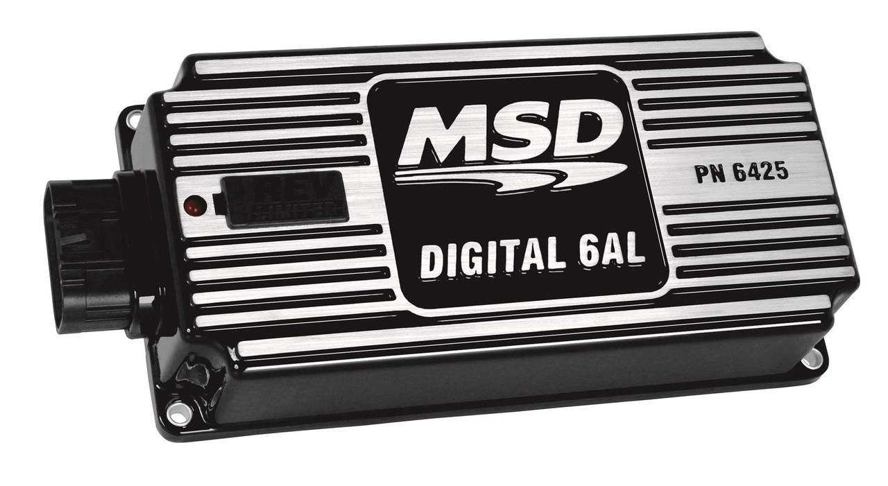 Drag Race Car Parts And Accessories Msd Digital 6al Ignition Box With Rev Car Parts And Accessories Digital Race Car Parts