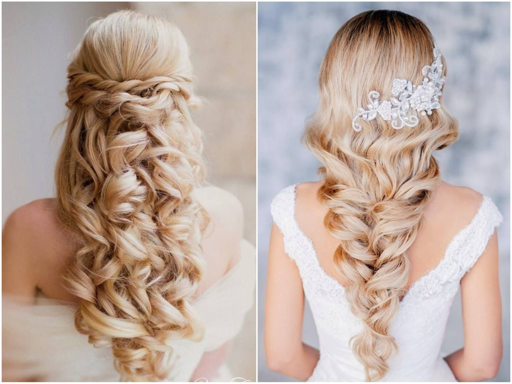 Gorgeous Leave Your Hair Down For The Big Day Wedding Evening Hairstyles Mom Hairstyles Diy Wedding Hair