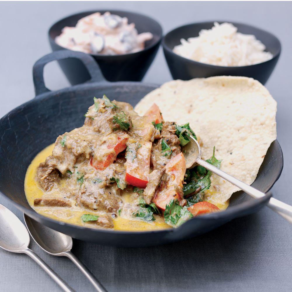 Crock-Pot® Indian Lamb Korma #crockpot #slowcooker #lamb #korma #curry