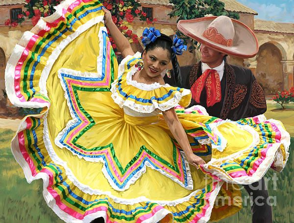 Mexican Hat Dance 2 By Tim Gilliland Traditional Mexican Dress Ballet Folklorico Folklorico Dresses