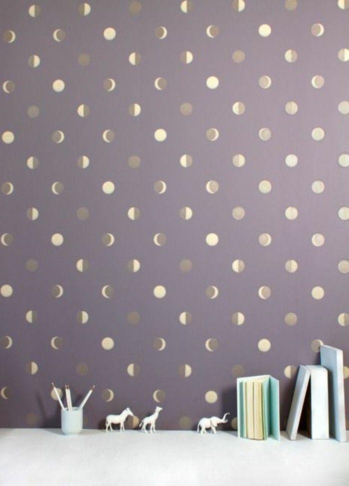 Les Papiers Peints Design En 80 Photos Magnifiques En 2020 Papier Peint Design Papier Peint Chantemur Papier Peint