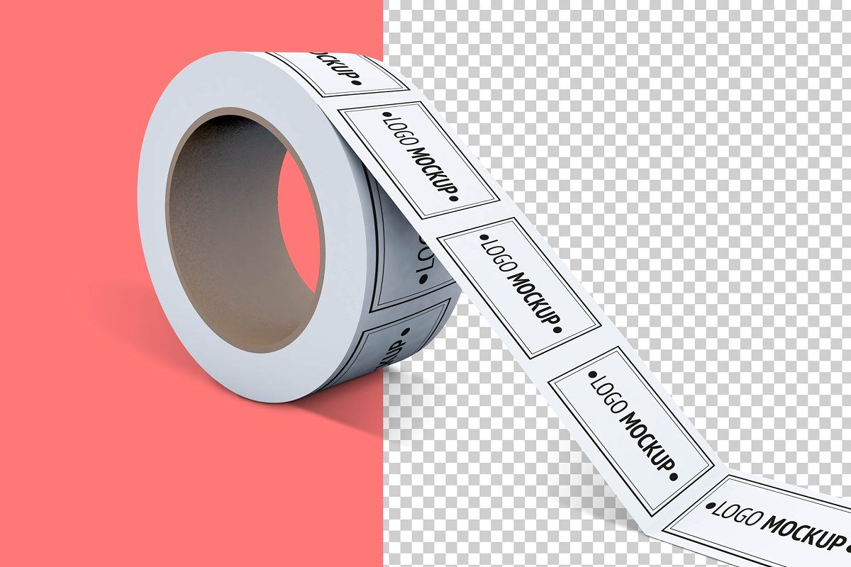 Download Duct Tape Mockup Box Mockup Packing Tape Templates