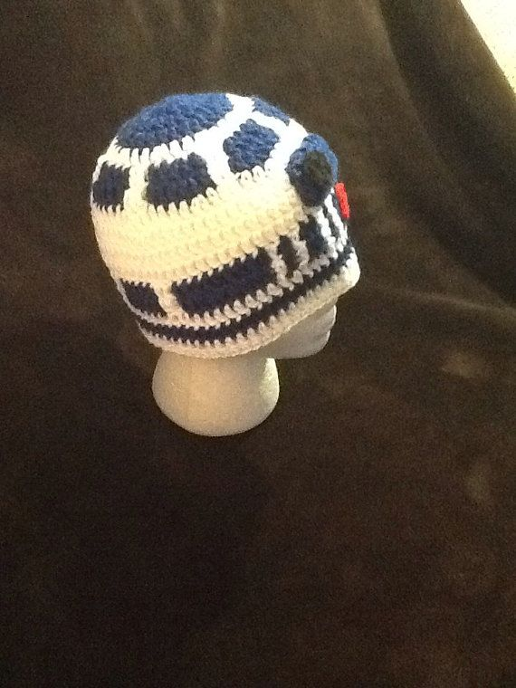 4c5b1aff5fe Star Wars R2D2 Crochet Beanie made to order all by BeccasBeanies