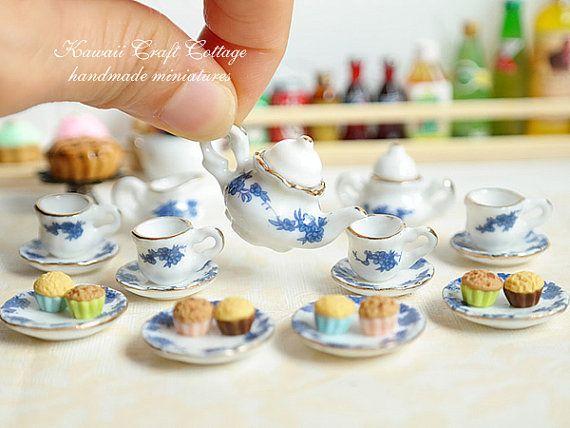1:12 Dollhouse Miniature Transparent Plastic Dessert Pot Pastry Kitchen Toy LE