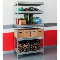 Photo of Wesemeyer heavy duty shelf brown / silver