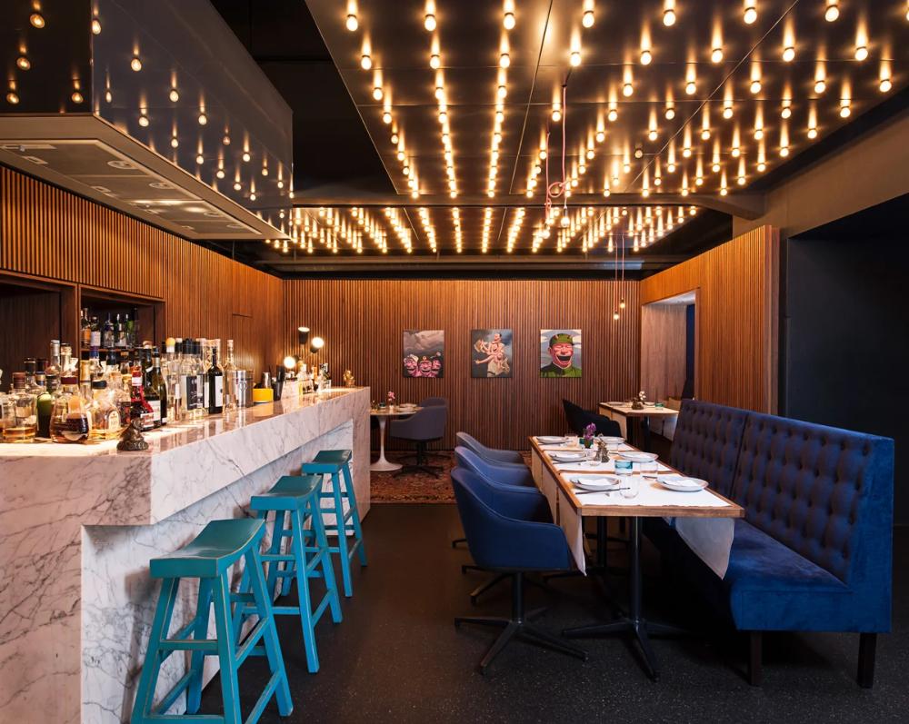 Restaurant Tim Raue Restaurant Review Conde Nast Traveler Chefs Table Restaurant Tasting Menu