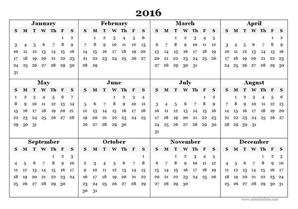 Printable January February March 2016 Calendar 2016 Template Jos