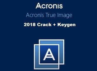 акронис тру имидж 2018 ключ
