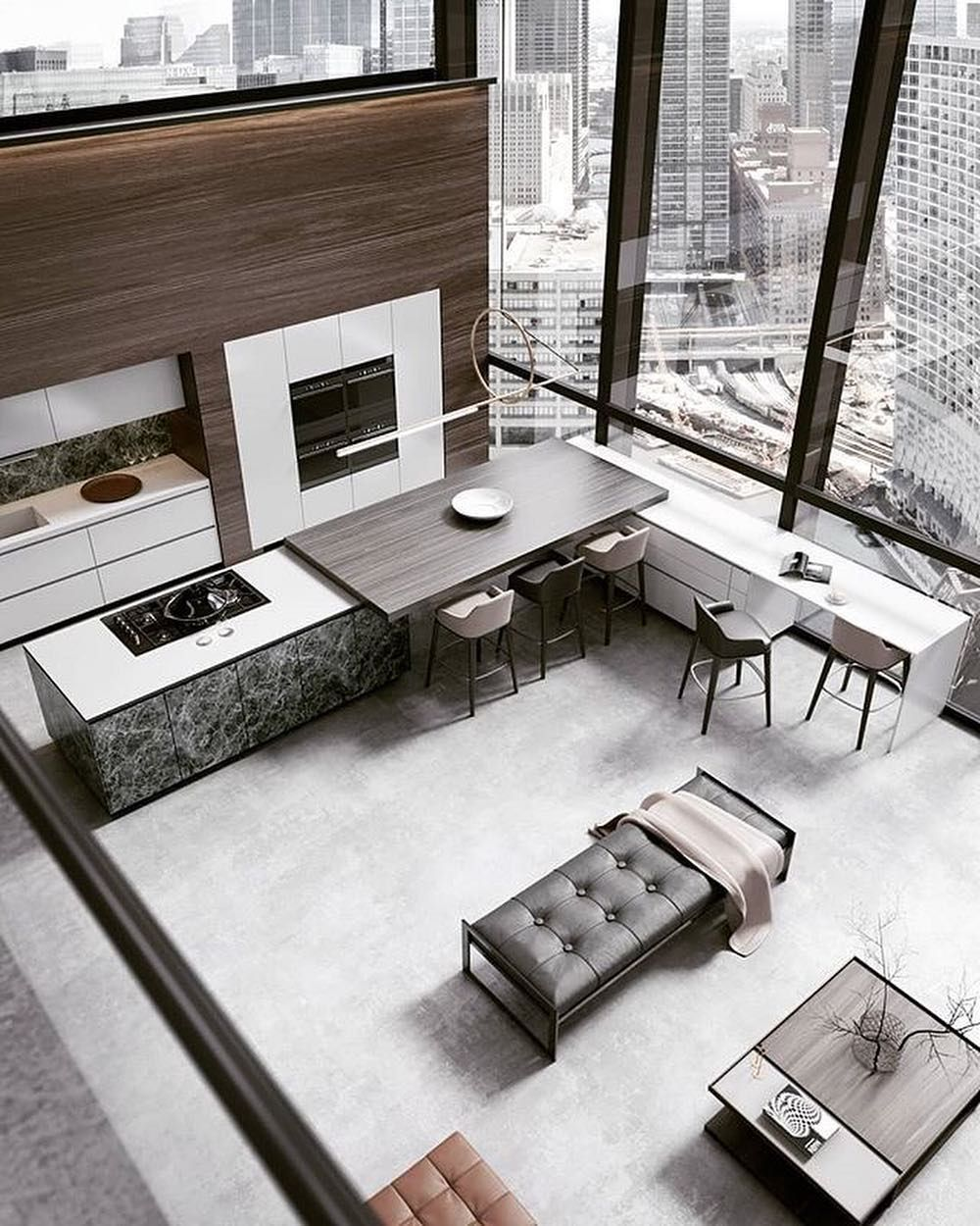 Amazing Architecture On Instagram Penthouse Interior Design By