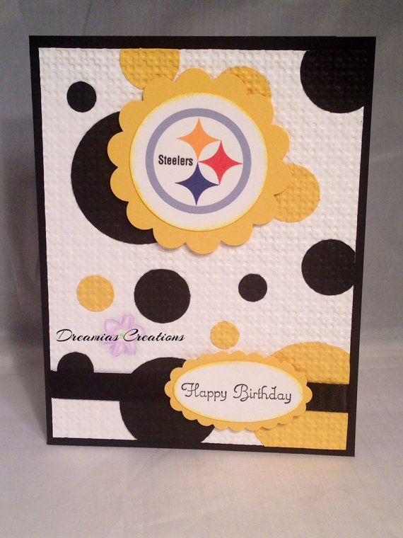 2c6c0d44 Great card for any Pittsburgh Steelers fan | Cards | Handmade ...